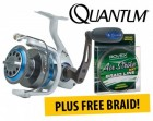 ForPressRelease.com - New Quantum Cabo Saltwater Spin Fishing Reels