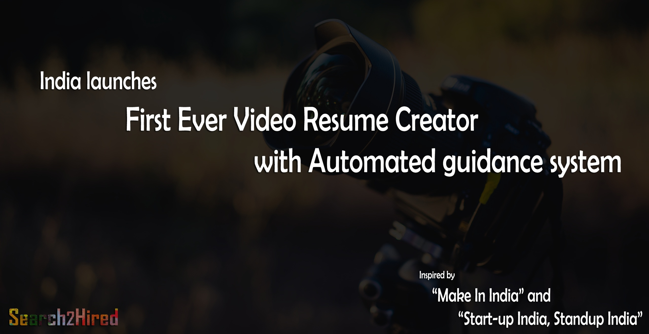 search2hired launches world s first video resume creator app for