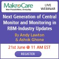 ForPressRelease.com - Webinar : Next Generation of Central Monitor and Monitoring in RBM-Industry Updates