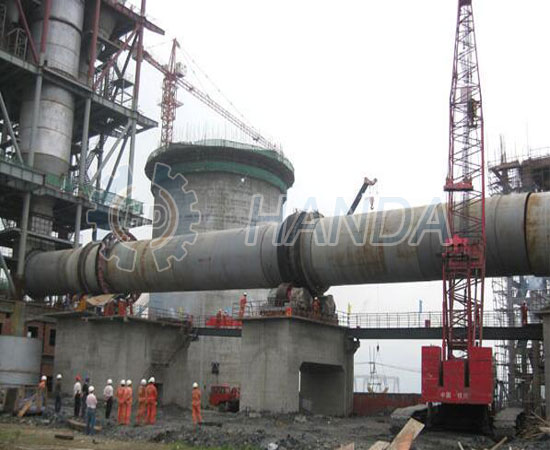 Cement Kiln Clinkers : Eco friendly cement clinker rotary kiln attaches