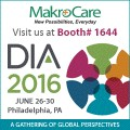 ForPressRelease.com - Are you attending DIA Annual Meeting 2016? Meet MakroCare at Booth 1644 in Philadelphia, PA on 26th -  30thJune