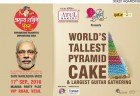 ForPressRelease.com - India for Guinness World Record - Tallest Pyramid Cake