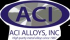 ForPressRelease.com - ACI Alloys Celebrates 30 Years in Business