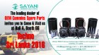 ForPressRelease.com - Sayani Engineering is participating in Techno Sri Lanka 2016 Exhibition