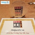 ForPressRelease.com - Helper4U.in Selected as a 2016 Red Herring Top 100 Asia Winner