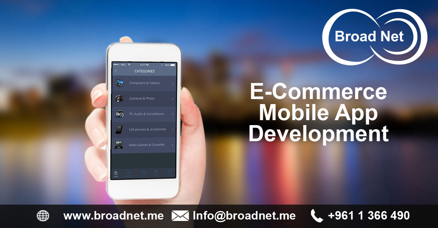 Broadnet technologies launches e commerce mobile app to for E commerce mobili