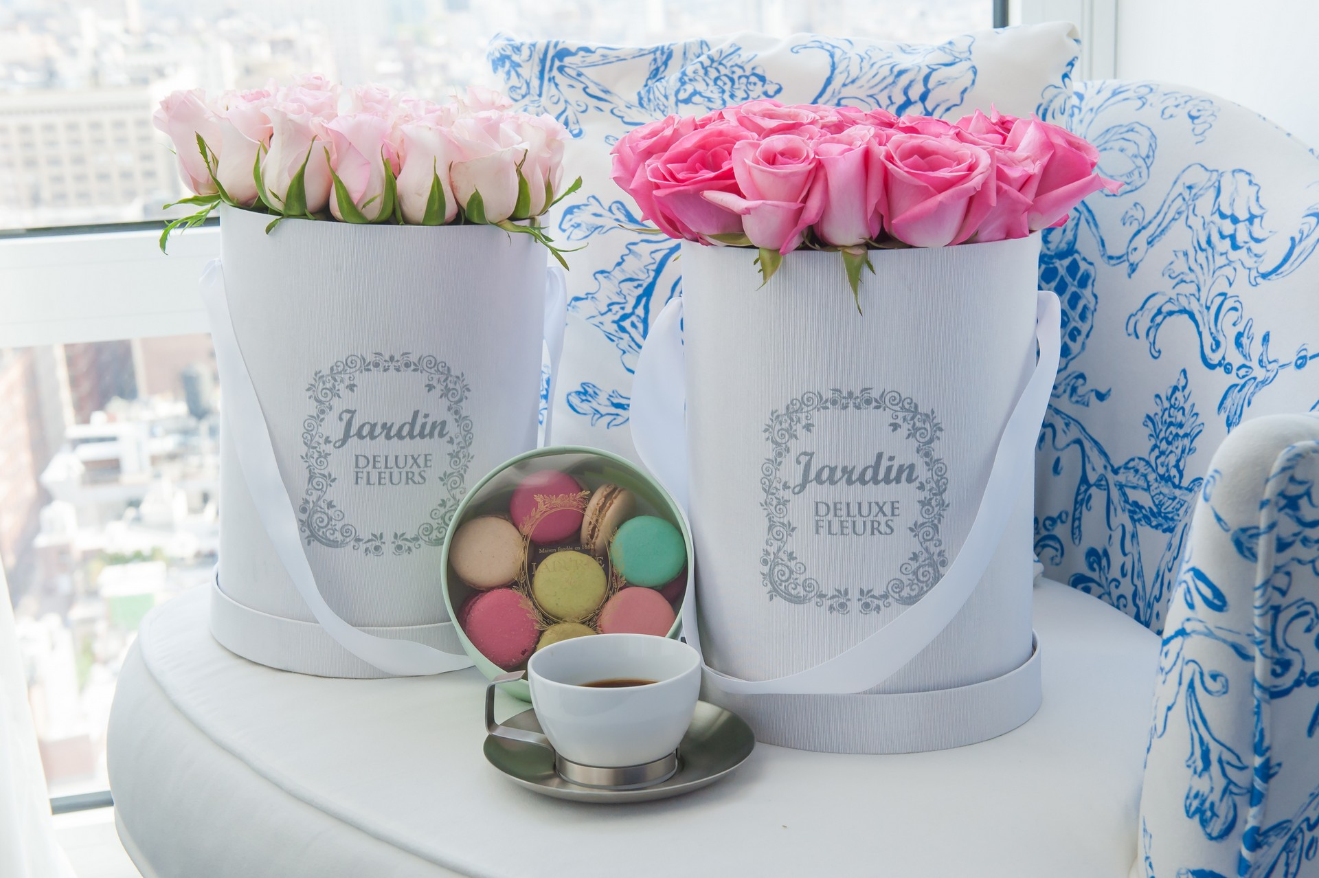 Bringing the french luxury experience to america one for Jardin deluxe fleurs