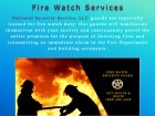 ForPressRelease.com - National Security Service Expands Fire Watch Guard Services