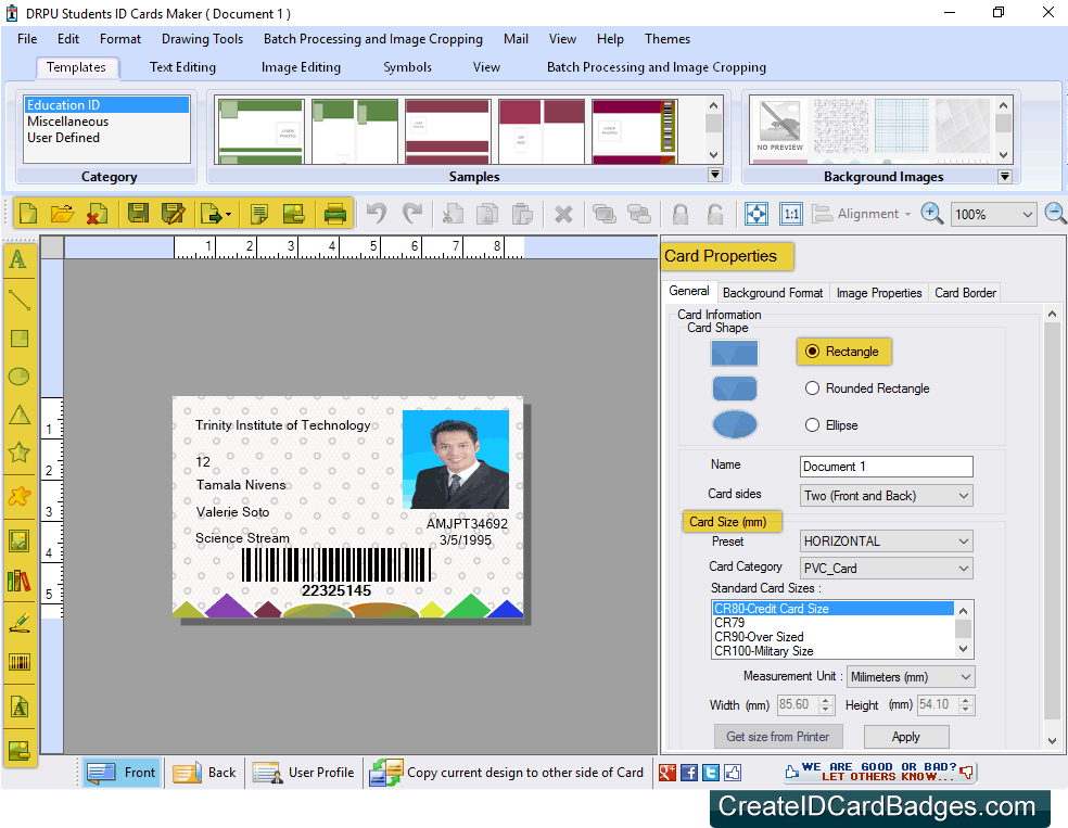 createidcardbadges com introduces student id cards maker system to
