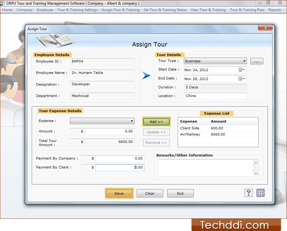 employee training database software