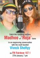 ForPressRelease.com - Madhoo with Viveck Shettyy on FM Rainbow 107.1