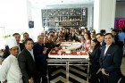 ForPressRelease.com - Courtyard by Marriott, Agra gets bigger on its 2nd anniversary breaking its own record by yet another longest cake in Agra's history!