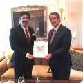 ForPressRelease.com - Sandeep Marwah Briefed President of Cyprus With ICFCF