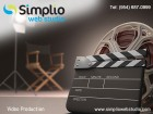 ForPressRelease.com - Simplio Web Studio launches high definition Video Production at affordable rates
