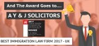 ForPressRelease.com - Dedicated Immigration Firm wins 2017 Award