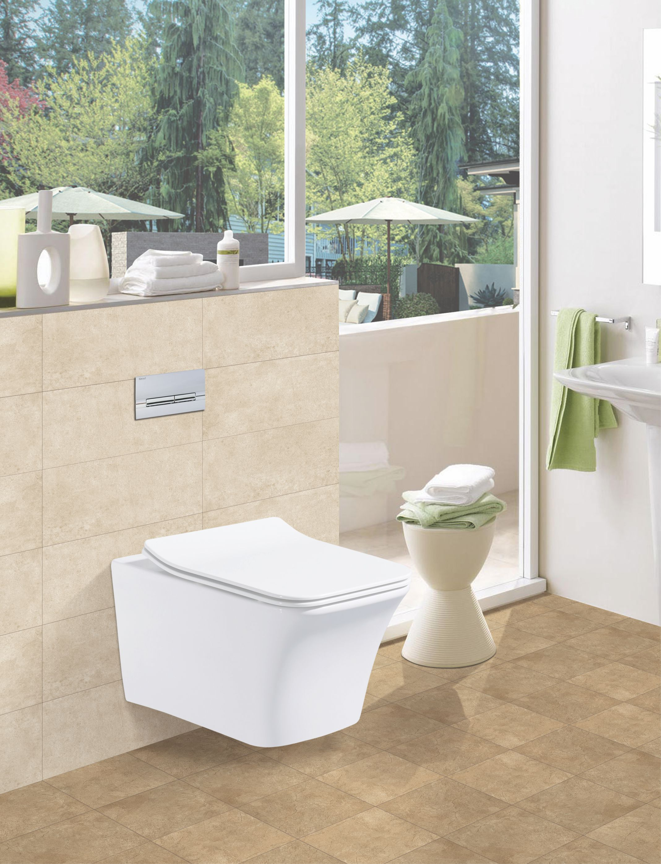 Kerovit- a brand by Kajaria redefines bath spaces - For Press ...