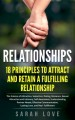 ForPressRelease.com - Author Sarah Love Features New Research in Book to Attract and Keep a Partner