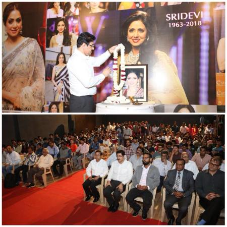 Sridevi Remembered At Marwah Studios With Great Honor For Press