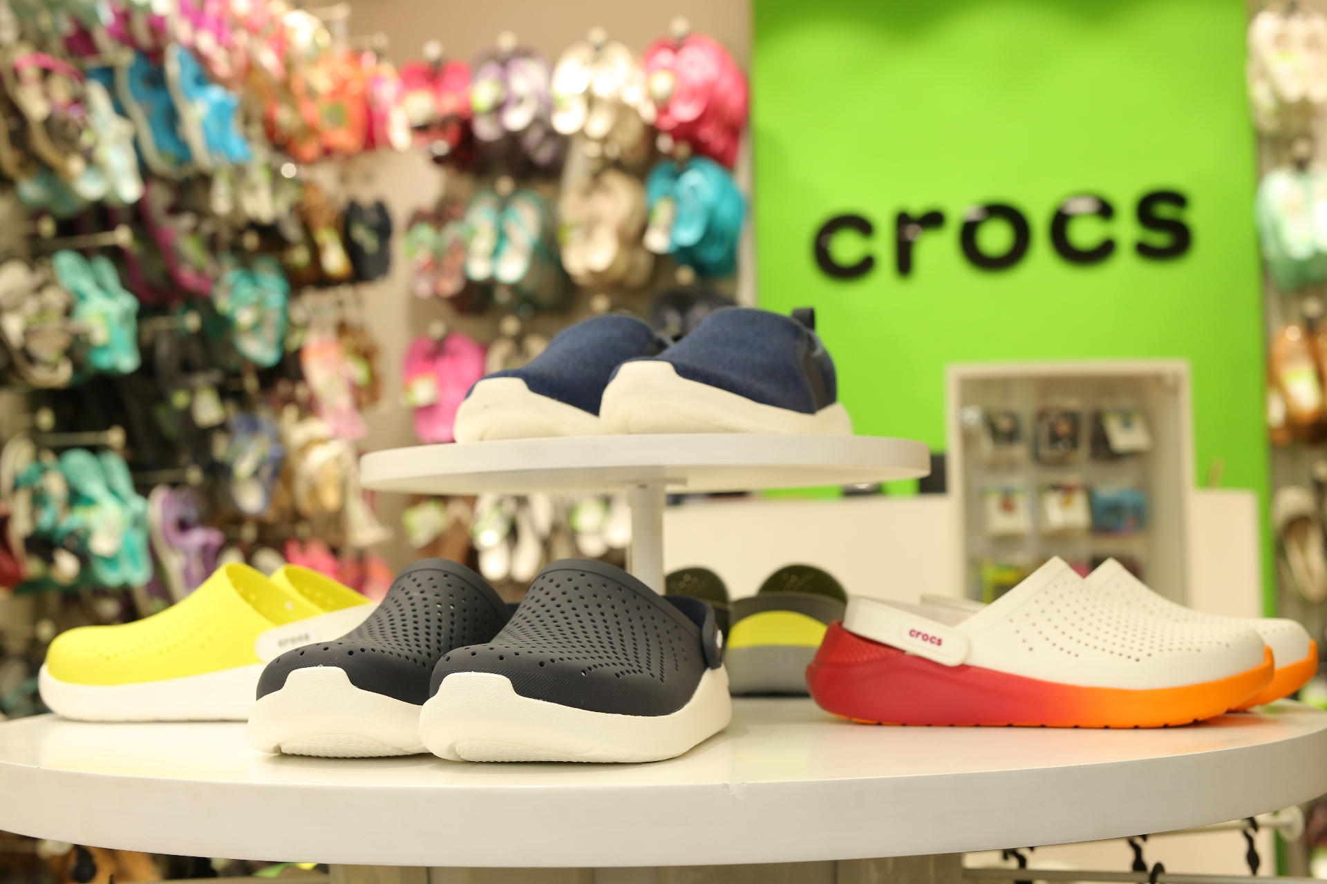 04163aab0 Crocs launches flagship store with LiteRide collection in Connaught ...