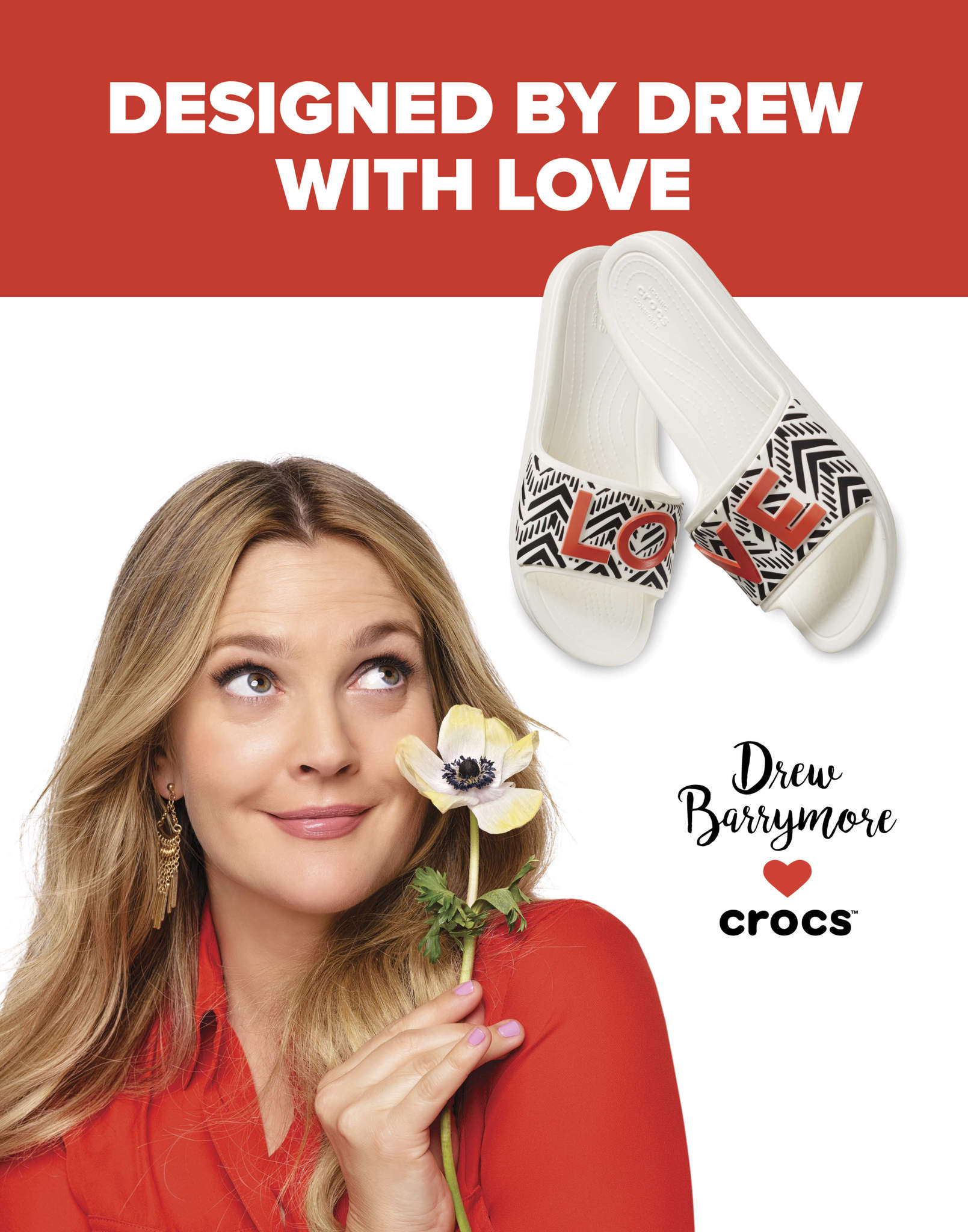 8edf41456807 Crocs Unveils Its Drew Barrymore ♥Crocs Chevron Collection - For ...