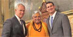 ForPressRelease.com - Pennsylvania Senate & House opened with Hindu mantras & holy water drops on June 19