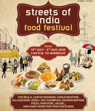 ForPressRelease.com - Hotel Sahara Star invites People for Street of India Food Festival