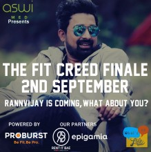 ForPressRelease.com - What's Up Life to host The Fit Creed Finale with Guest Rannvijay Singha