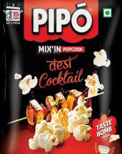 ForPressRelease.com - PIPO Gives Popcorn a Traditional Boost with Desi-Cocktail Flavour