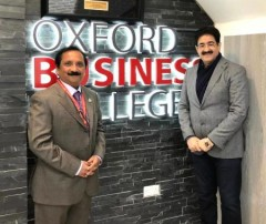 ForPressRelease.com - Sandeep Marwah Invited by Oxford Business College at Oxford