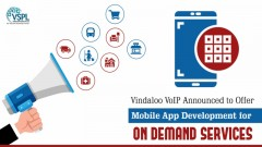 ForPressRelease.com - Vindaloo VoIP Announced to Offer Mobile App Development for On Demand Services