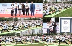 ForPressRelease.com - Historic Guinness World Record in Yoga made in Hong Kong