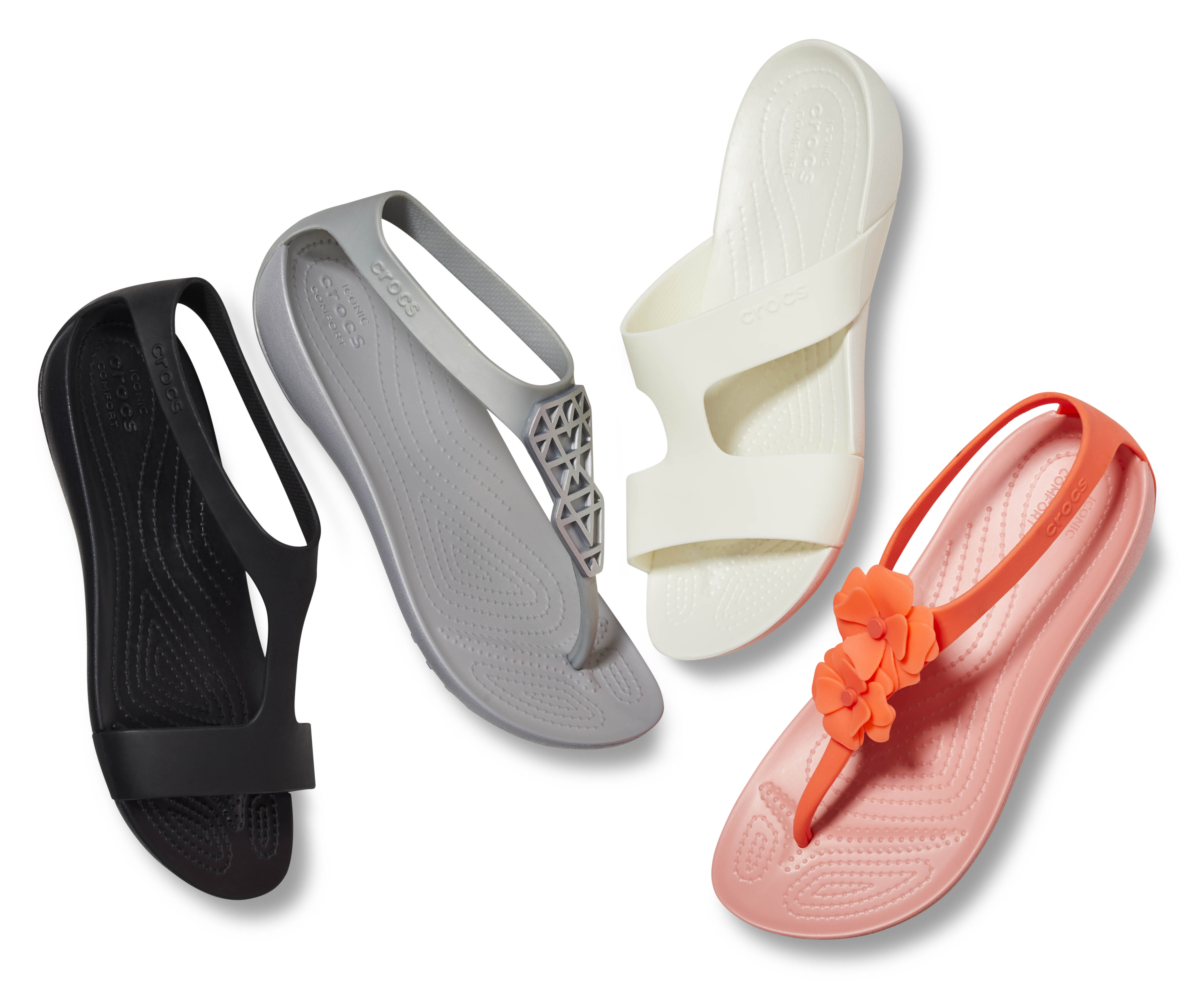 7c6f565e8 Crocs Serena collection is now available in a variety of sandals ...