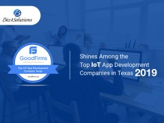 ForPressRelease.com - Biz4Solutions shines among the Top IoT App Development Companies in Texas at GoodFirms